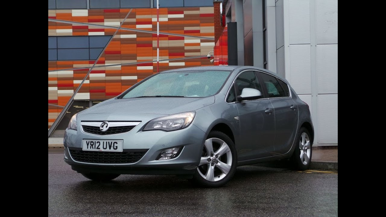 2012 vauxhall astra 1 4 16v sri 5dr in silver lake youtube. Black Bedroom Furniture Sets. Home Design Ideas