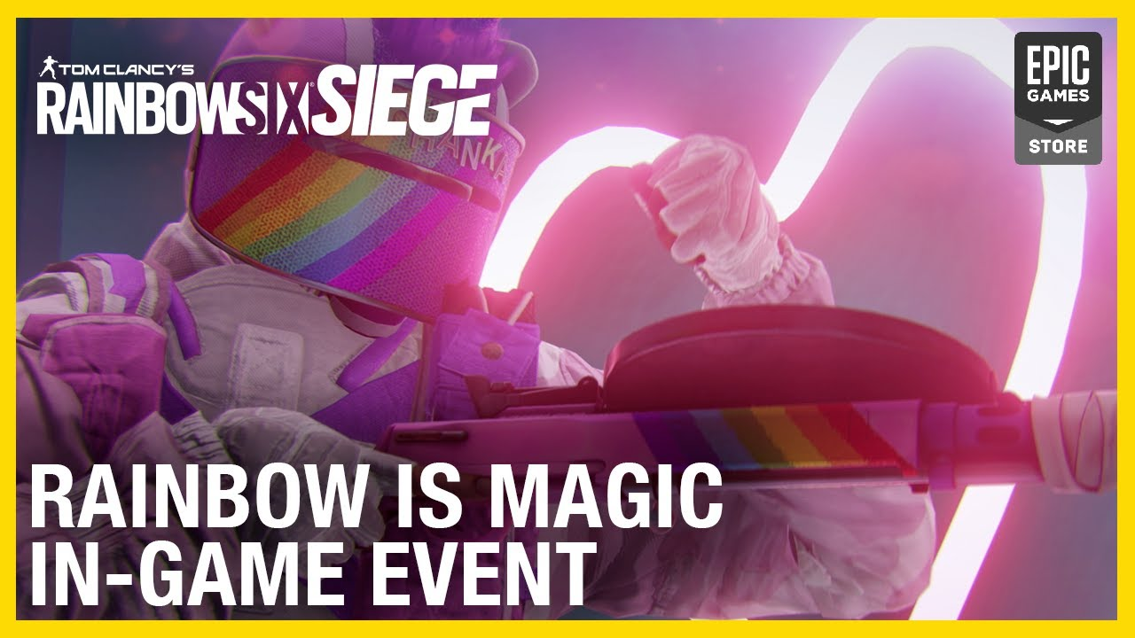 Rainbow Six Siege: Rainbow is Magic Event Returns