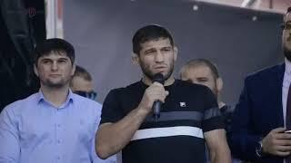 Отчетный фильм Хабиб Нурмагомедов в Уфе