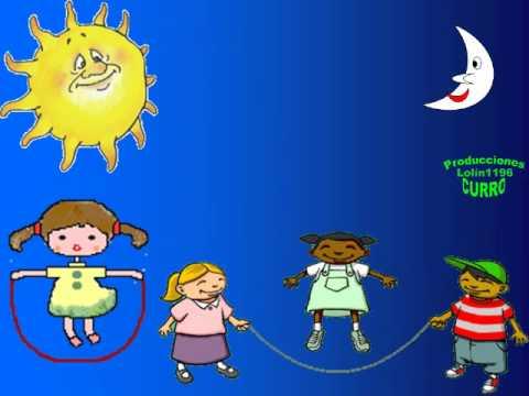 Cancin Infantil La luna y el sol  YouTube