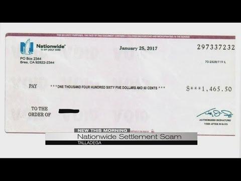 settlement scam