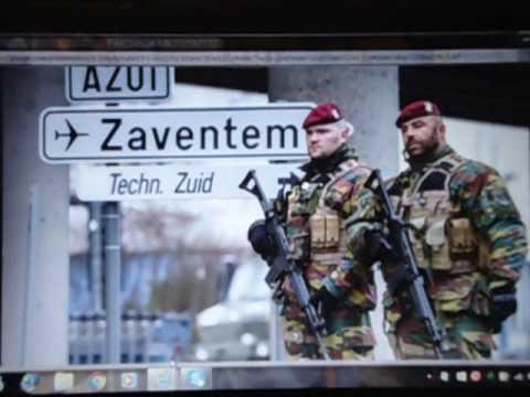 2016 Brussels Bombings Tribute