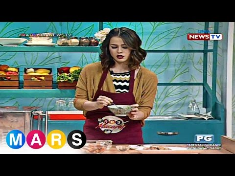 Mars: Valeen Montenegro cooks for the first time on television