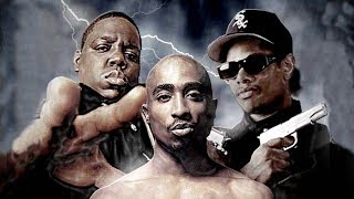 2Pac ft. Ice Cube - Gangsta Rap Made Me Do It (ft. Eminem, Eazy E, Biggie, Snoop Dogg) (MEGA MIX)