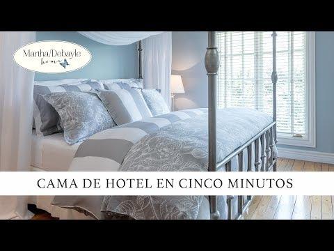 Cama De Hotel En Cinco Minutos| Martha Debayle