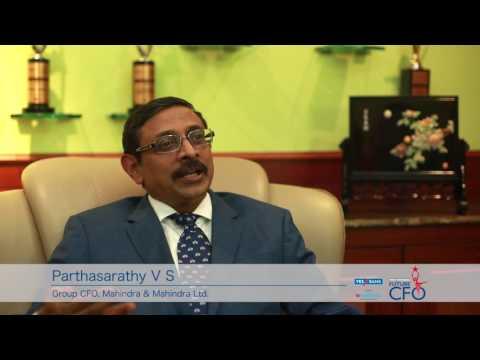 YES BANK BW Most Promising Future CFO Awards | VS Parthasarathy, Group CFO, Mahindra & Mahindra