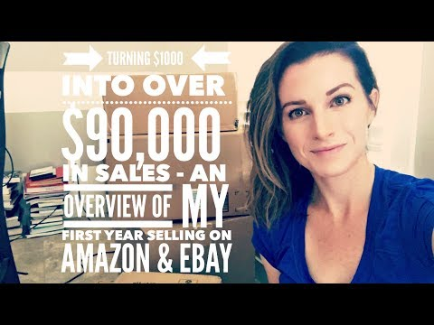 Turning $1,000 to over $90,000 in Sales - An Overview of My First Year Selling on Amazon & Ebay