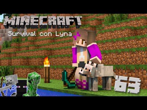 Mis primeros lobitos ♥ | Minecraft: Survival con Lyna #63