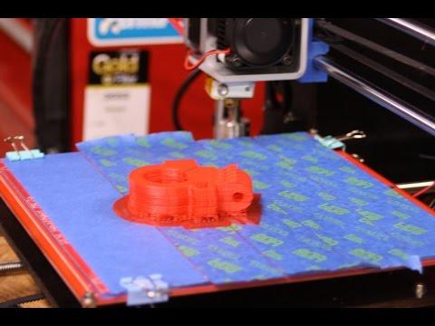 3D Printer Z-axis Leadscrews