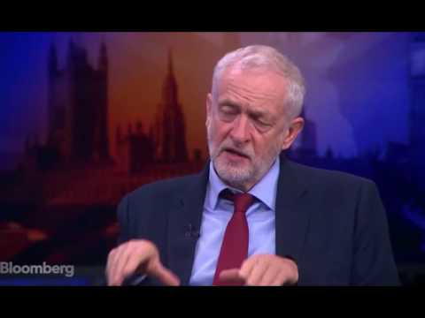 Jeremy Corbyn interview with Bloomberg