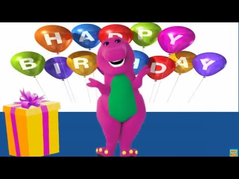 Barney style Happy Birthday Song