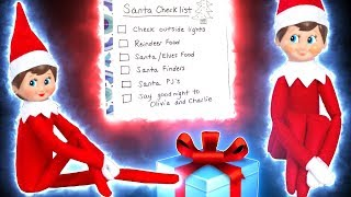 This is our elf on the shelf night before christmas santa checklist where we show you how to prepare reindeer food and your magical elves for when come...
