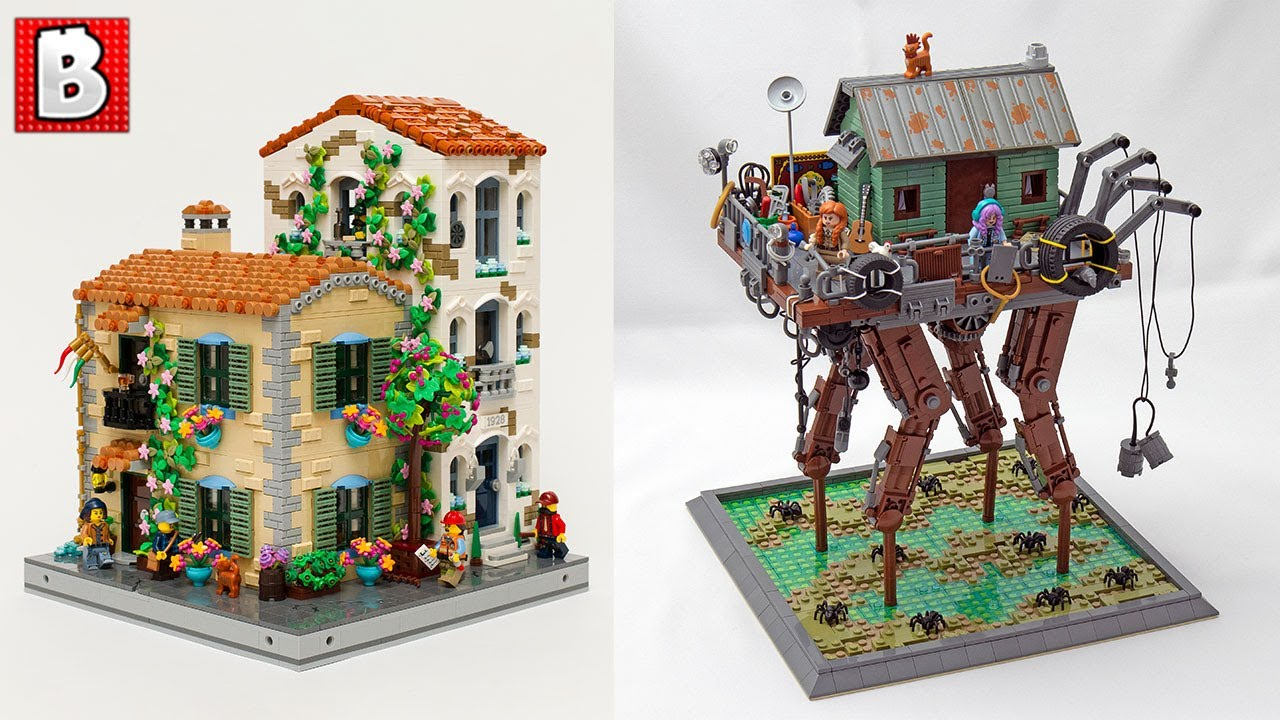 Which LEGO House Would You Rather Live In? TOP 10 MOCs