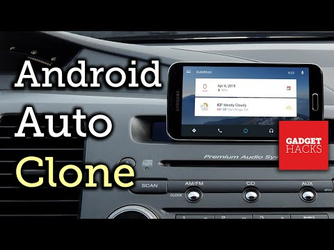 Turn Your Device into an Android Auto Dashboard Unit [How-To