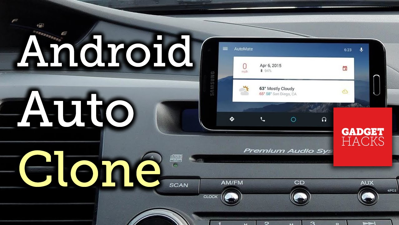 turn your device into an android auto dashboard unit [how-to] - youtube