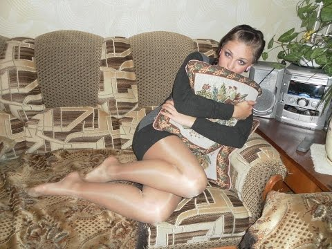 Cute Girls in Tights Nylons Pantyhose & Shoeless Feet #3