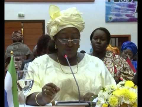 Office of First Lady in Sierra Leone transformed