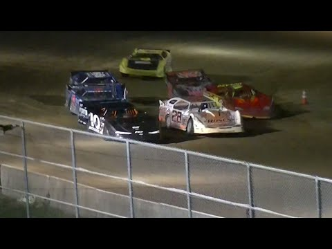 RUSH Crate Late Model Heat Five | McKean County Raceway | Fall Classic | 10.10.14