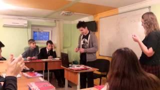 Фрагмент открытого урока английского языка в группе Upper-Intermediate 1, 12 -15 лет, часть  2