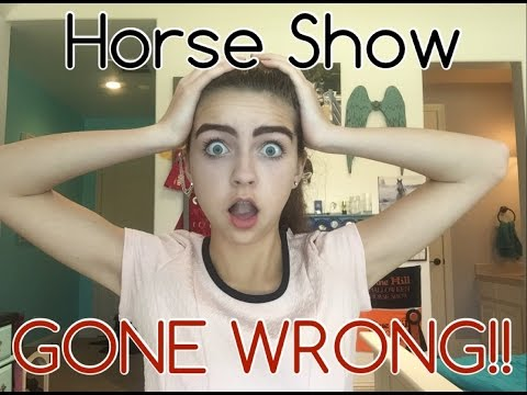 My First Horse Show HORROR STORY!!! With VIDEOS!!!