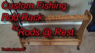 Custom Fishing Rod Rack