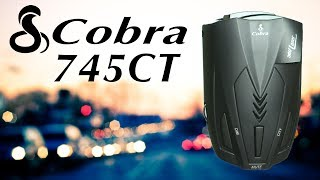 #видеообзор  Радар-детектор Cobra RU 745CT. Обзор Hi-News.ru