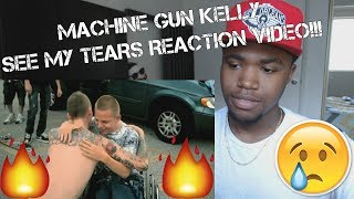 Machine Gun Kelly - See My Tears-REACTION! 500 SUBSCRIBERS!!!