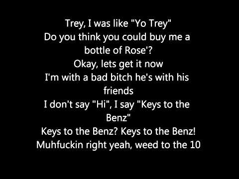 Trey song ft Nikki Minaj- Bottoms up lyrics
