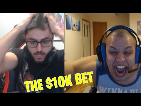 TYLER1: HE ALREADY LOST HIS MIND ON DAY 2 ($10K BET)