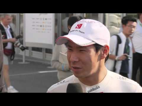 F1 2011 Japan [Q] - Kamui Kobayashi Interview Post Qualifying