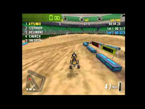 Speedrun: ATV Offroad Fury 2-Lafayette (5 Lap Race) [WR] [4m 27s]