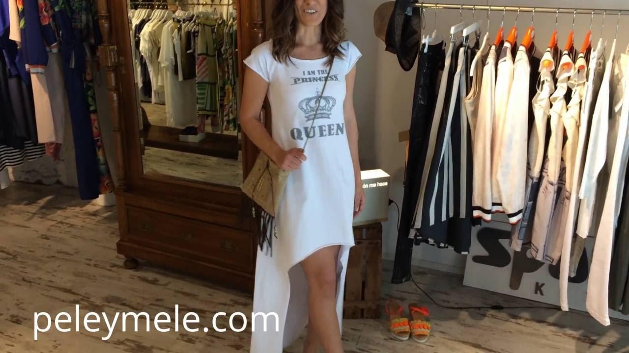 Vestido Blanco Tienda Mujer De Pelé Y Ropa Melé Para srChQdtx