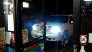 SMD Escalade Tears up Sonnys Liquor (8 18's 30...