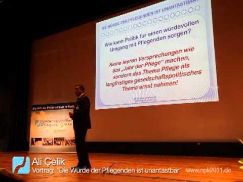 Die Würde Der Pflegenden Ist Unantastbar - Ein Vortrag Von Ali Çelik