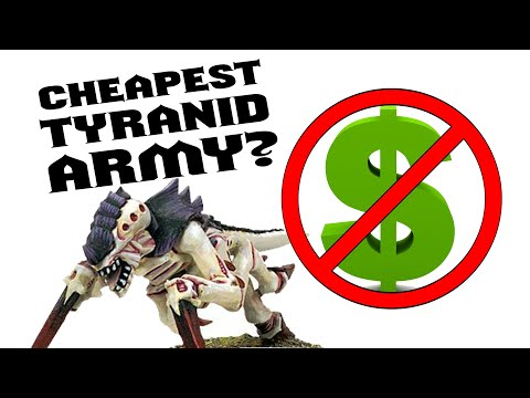 The Cheapest Way To Start Collecting Tyranids For Warhammer 40k