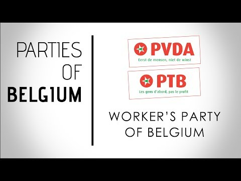 Partij van de Arbeid van/Parti du Travail | Worker's Party | Belgium, Federal Election 2019