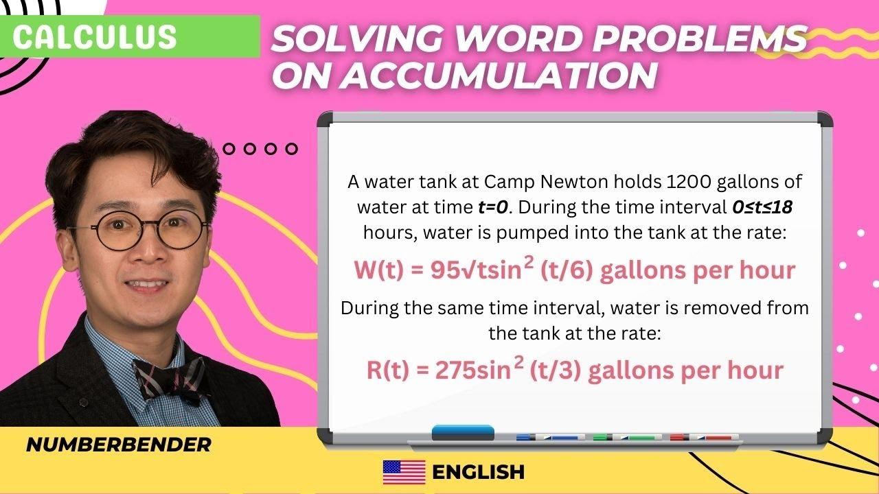 AP Calculus AB FRQ 2005 Form B Question 2 - YouTube