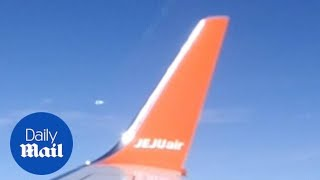 Passenger films mysterious UFO onboard plane to Thailand
