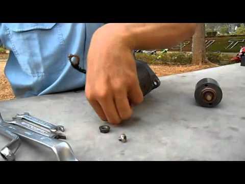 membongkar motor starter konvensional