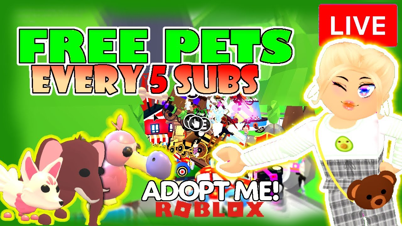 Roblox PlayAdoptMe LIVE ! Playing with fans, trading and NEON LEGENDARY PETS in Roblox Adopt Me!