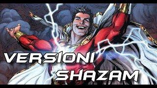 LE VERSIONI ALTERNATIVE DI SHAZAM CAPTAIN MARVEL -DC COMICS- Video