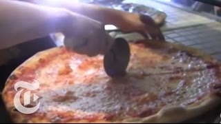 Brooklyn Guy Makes Pizza Pies Fly | Street Takes | The New York Times