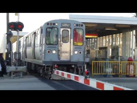 "CTA Transit: 1982 Budd Company 2800 Series ""L"" Not In Service Train at Cicero Crossing"