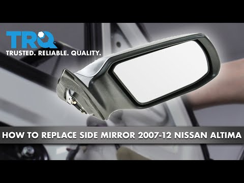 How to Replace Side Mirror 07-12 Nissan Altima