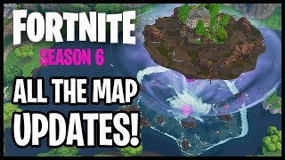 Fortnite Season 6 | Floating Loot Lake, Haunted Castle and much more | ALL MAP SECRETS