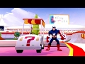 Captain America in Toy Box Speed Way - Road to Knowhere - Disney Infinity 3.0