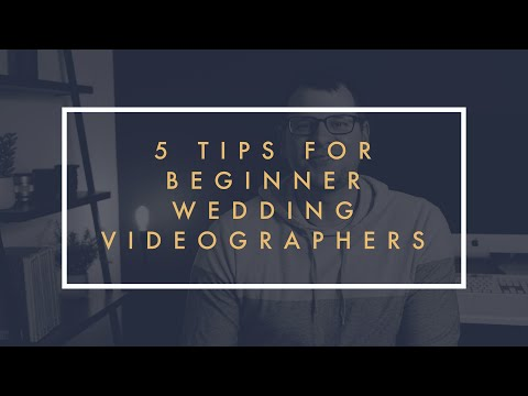 Beginner's Guide To Wedding Videography // 5 Things You Need To Know Before Filming Weddings