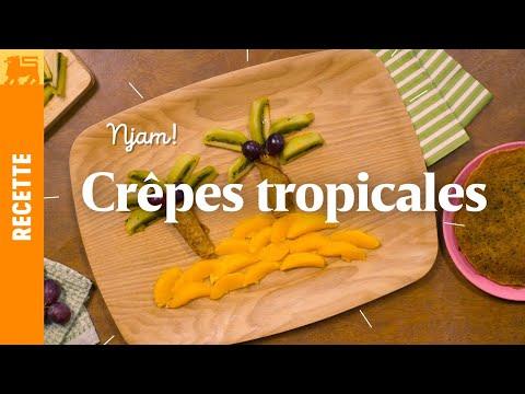Crêpes tropicales