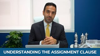 What is the assignment clause?