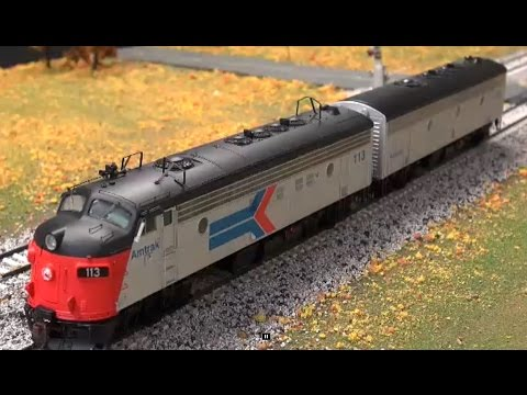 Review: Athearn FP7AB Set in Amtrak Scheme DC/DCC Tsunami Sound